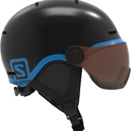 Salomon Grom Visor Jr Musta