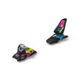 Marker Squire 11 ID Black-Pink-Blue Laskettelusiteet