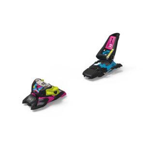 Marker Squire 11 ID Black-Pink-Blue Laskettelusiteet