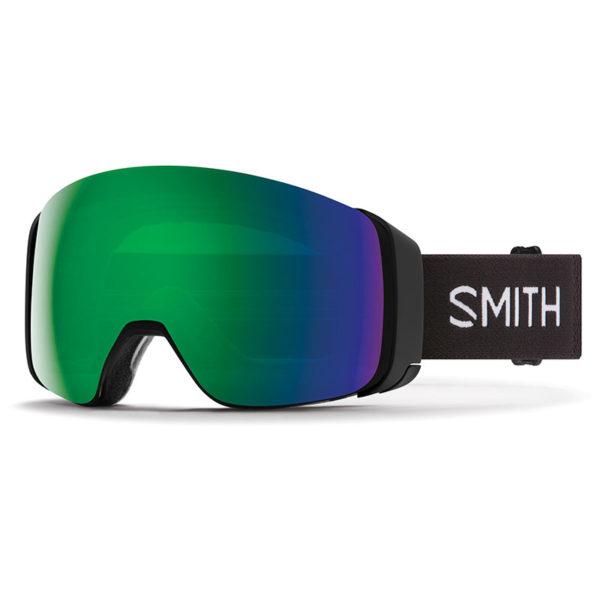 Smith 4D Mag Black/CP Sun Green Laskettelulasit