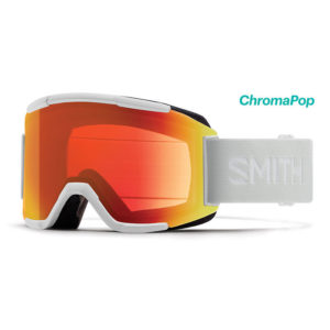 Smith Squad White Vapor CP Everyday Red Mirror Laskettelulasit