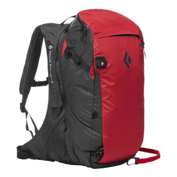 Black Diamond Jetforce Pro Avalanche Airbag Pack 35L Punainen Lumivyöryreppu