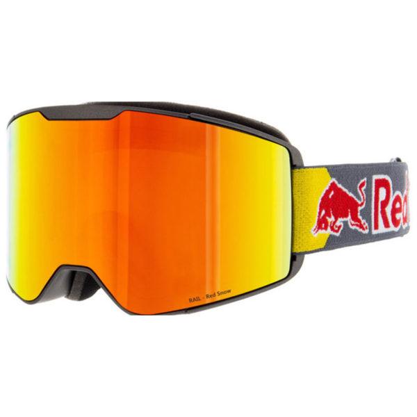 Spect Red Bull Park Matt Black – Dark Anthracite Headband Laskettelulasit
