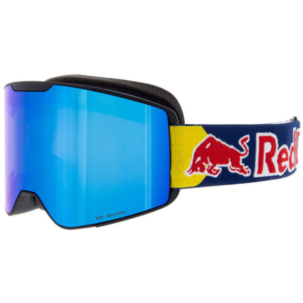 Spect Red Bull Rail Matt Black – Blue Headband Laskettelulasit